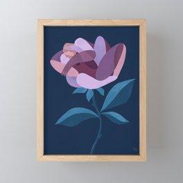 An imaginary place Framed Mini Art Print