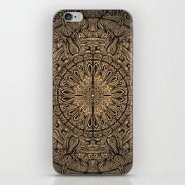 Sepia Mandala iPhone Skin