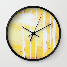 Two Households - AB Wall Clock