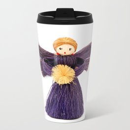 Christmas angel Metal Travel Mug