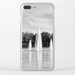 Morning Water Clear iPhone Case