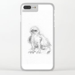 Baby Gryphon Clear iPhone Case