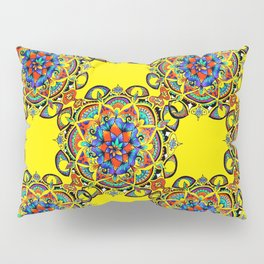 Mandala Bloom Pillow Sham