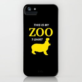 Funny Zoo Visit Shirt Hippo iPhone Case