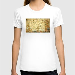 Gustav Klimt The Tree Of Life T-shirt