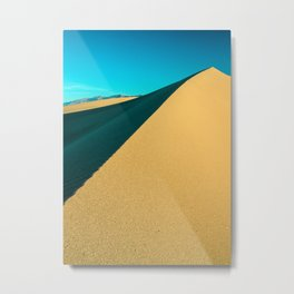 death valley line and flow Metal Print