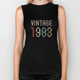 Vintage 1983 Biker Tank