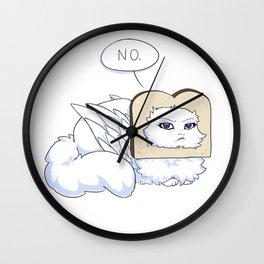 No Bread plz Wall Clock