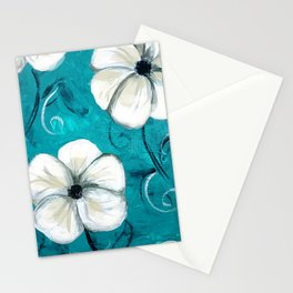Flowers in Oil Stationery Cards