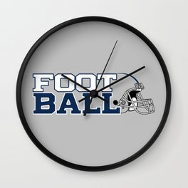 Futbol en Texas Wall Clock