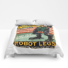 Franklin D. Roosevelt and his Amazing Robot Legs.... Comforters