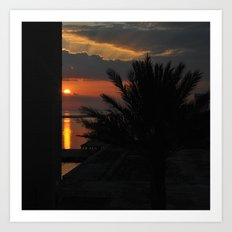 And Watch the Sun Go Down Art Print
