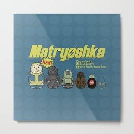 Fallout - matryoshka Metal Print