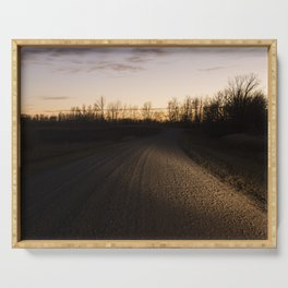 Country Road 2 Serving Tray