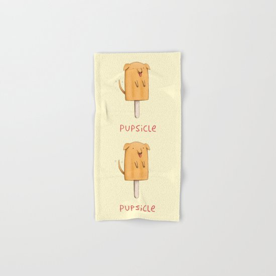 Pupsicle Hand & Bath Towel