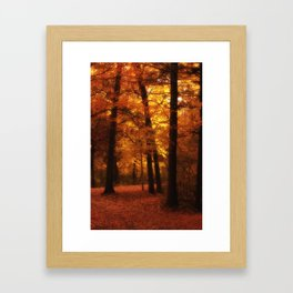 Path of least resisttence Framed Art Print