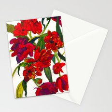 Inky Tulips Stationery Cards