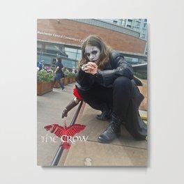 The Crow (Eric Draven) Cosplay  Metal Print