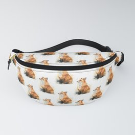 Red Fox Pattern Fanny Pack