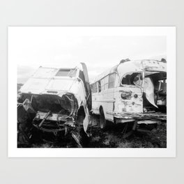 Seen Better Days Art Print