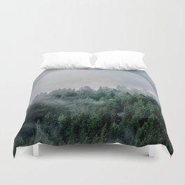 Foggy Woods 3 Duvet Cover