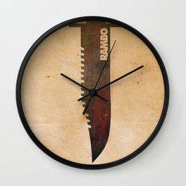 Rambo Wall Clock