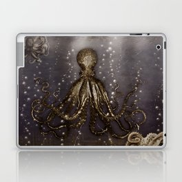 Octopus' lair - Old Photo Laptop & iPad Skin