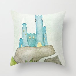 The castle Throw Pillow