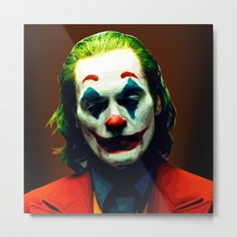 Joker, Joaquin Phoenix, Phoenix Joker, The Joker tshirt, Joker phone case, joker mug, joker art, joker poster Classic T-Shirt Metal Print