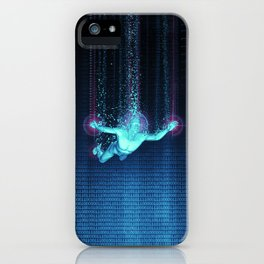 Virtual Reality Diver iPhone Case