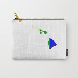 Hawaii-Map-Rainbow-Pride-Gifts Carry-All Pouch
