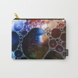 Blue to red bubbles Carry-All Pouch