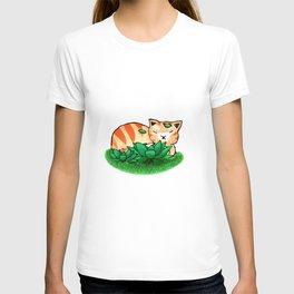 Ginger Sleeping T-shirt