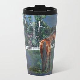 Looking On Travel Mug