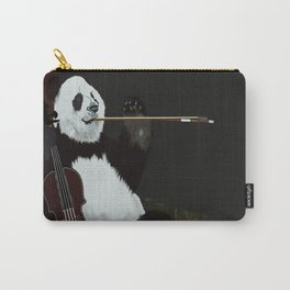panda violinist Carry-All Pouch