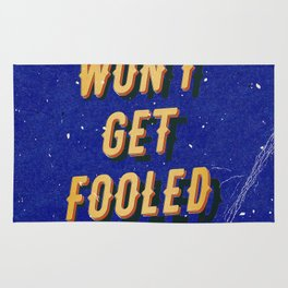 We won't get fooled again – A Hell Songbook Edition Rug