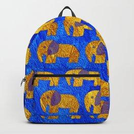 Golden elephant ecopop Backpack