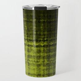 Black olive mosaic Travel Mug