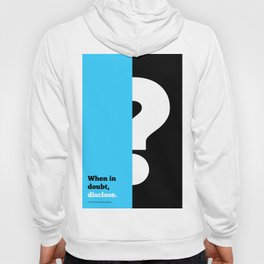 Lab No. 4 -When in doubt disclose N.r. Narayana Murthy Inspirational Corporate Startup Quotes Poster Hoody