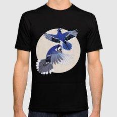 Blue Jays. Mens Fitted Tee Black MEDIUM