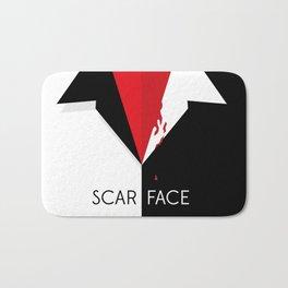 Scarface Minimalist Movie Poster Bath Mat