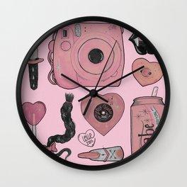 GIRLY STUFF Wall Clock