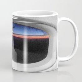 Airplane Window Coffee Mug