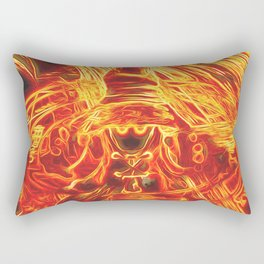 Incendium Waltz Rectangular Pillow