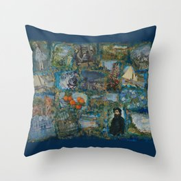 The Impressionists No. 1 COL140215a Throw Pillow