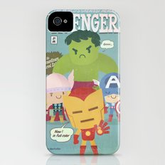 avengers fan art iPhone (4, 4s) Slim Case