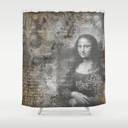 Secrets of the Mona Lisa Shower Curtain