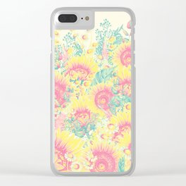 Summer Garden 4 Clear iPhone Case