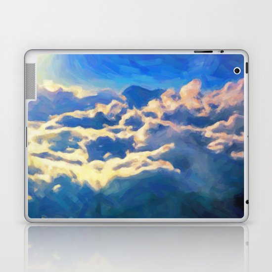 Over The Clouds - Painting Style Laptop & iPad Skin