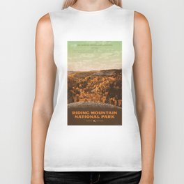 Riding Mountain National Park Biker Tank